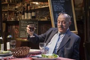 Parisian Enjoying Dinner